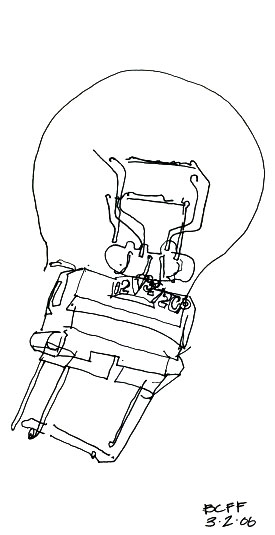 Contour Line Drawing Objects : Think art make